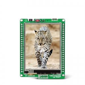 mikromedia 2.8´´ nutikas displei Tiva™ mikrokontrolleriga