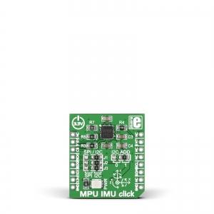 MPU IMU click - MPU-6000 güroskoop/kiirendusanduri moodul