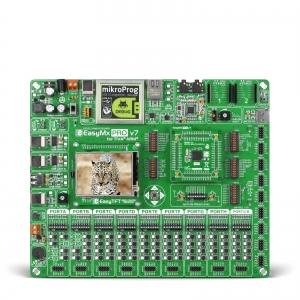 EasyMx PRO v7 arendusplatvorm Tiva™ C-seeria mikrokontrolleriga