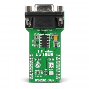 RS232 click - MAX3232 jadaliidese adapter