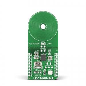 LDC1000 click - induktiivne kaugusanduri moodul