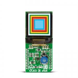 OLED C click - OLED RGB displei