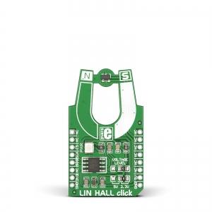 LIN HALL click - MLX90242 Hall magnetanduri moodul