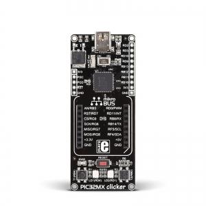 PIC32MX clicker - stardiplatvorm 32-bit PIC32MX mikrokontrolleriga