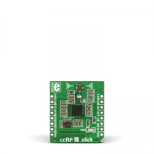 ccRF2 click - CC1120  820-960MHz transiiveri moodul