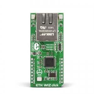 ETH WIZ click - W5500 Ethernet kontroller
