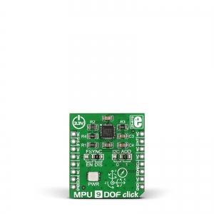 MPU 9DOF Click - MPU-9150 9-teljeline asendianduri moodul