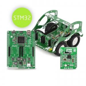 BUGGY - robotliikuri arendusplatvorm, STM32 mikrokontrolleriga