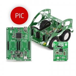 BUGGY - robotliikuri arendusplatvorm, PIC18FJ mikrokontrolleriga