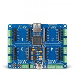 Quail Board - arendusplatvorm STM32F427 mikrokontrolleriga