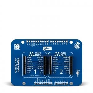 FRDM K64 click shield - adapter 2 click moodulile