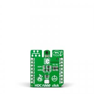 HDC1000 click - õhuniiskuse ja temperatuurianduri moodul