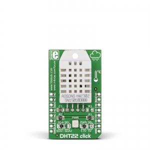 DHT22 click - õhuniiskuse ja temperatuurianduri moodul