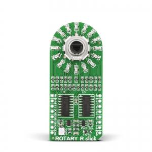 ROTARY R click - pöördenkooder LED indikatsiooniga, punane