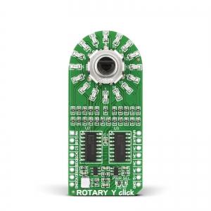ROTARY Y click - pöördenkooder LED indikatsiooniga, kollane