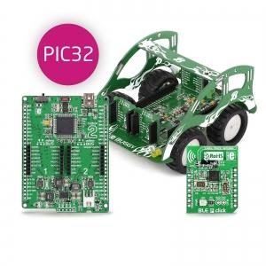 BUGGY - robotliikuri arendusplatvorm, PIC32MX4 mikrokontrolleriga