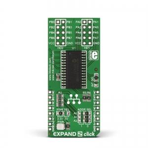 Expand 2 click - MCP23017  16-bit I2C multiplekser