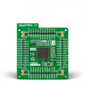 EasyFT90x v7 - FT900 QFN-100 mikrokontrolleri moodul