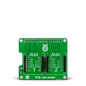 Pi2 click shield - Raspberry adapter 2 click moodulile