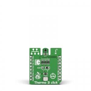 Thermo 3 click - TMP102 temperatuurianduri moodul