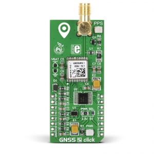 GNSS 2 click - L76 GPS/GLONASS moodul