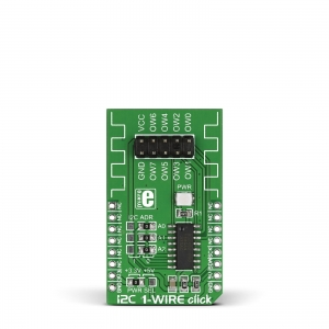 I2C 1-Wire click - DS2482-800  1-wire adapter