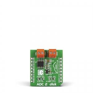 ADC 2 click - MCP3551/3  22-bit AD muunduri moodul