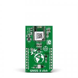 GNSS 3 click - SIM33ELA GPS/GLONASS moodul