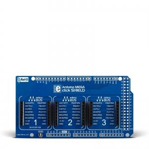 Arduino MEGA click shield - adapter 3 click moodulile