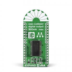 EXPAND4 click - TPIC6A595  8-bit nihkeregister