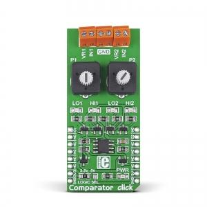 Comparator click - LM2903  2 kanaliga komparaatori moodul