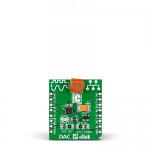 DAC 2 Click - LTC2601  16-bit DA muunduri moodul