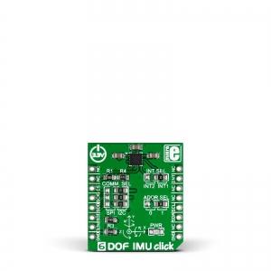 6DOF IMU click - LSM6DS33TR güroskoop/kiirendusanduri moodul