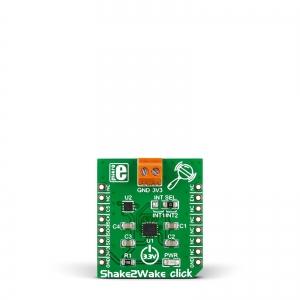 Shake2Wake click - ADXL362 kiirendusanduri moodul