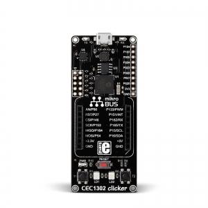 CEC1302 Clicker - stardiplatvorm ARM Cortex-M4 mikrokontrolleriga