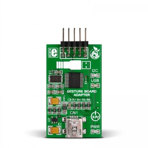 Gesture Board USB Adapter - käeviipe/suuna anduri adapter