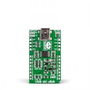USB I2C click - MCP2221 jadaliidese adapter
