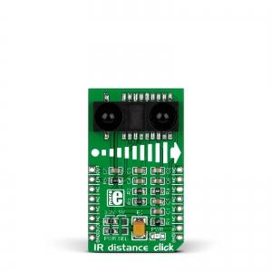 IR Distance click - GP2Y0A60SZ0F infrapuna kaugusanduri moodul