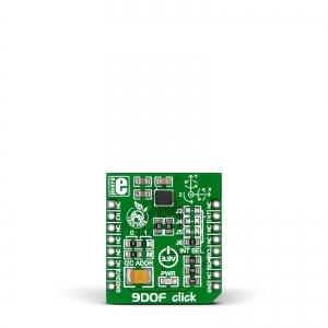 9DOF click - LSM9DS1 9-teljeline asendianduri moodul