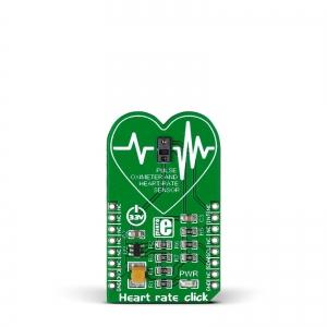 Heart rate click - MAX30100 pulssoksümeeter ja südame löögisageduse andur