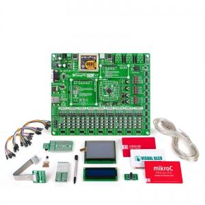 mikroLAB PIC L arendusplatvorm + mikroC kompilaator