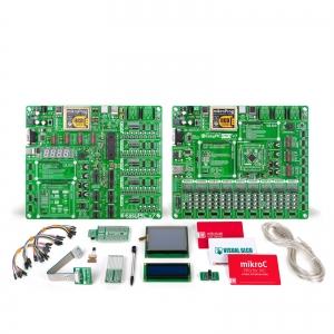 mikroLAB PIC XL arendusplatvorm + mikroC kompilaator