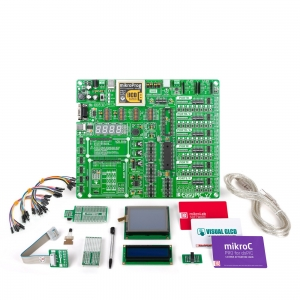mikroLAB dsPIC arendusplatvorm + mikroC kompilaator