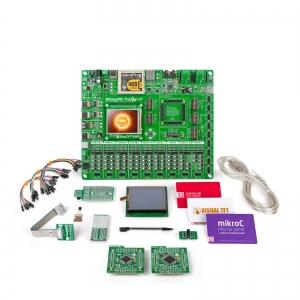 mikroLAB dsPIC L arendusplatvorm + mikroC kompilaator