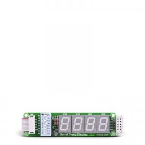 7-segment LED displei moodul, SPI liides