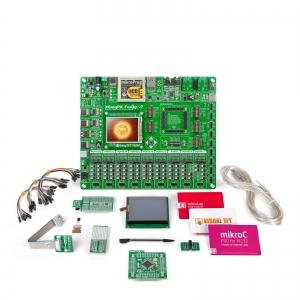 mikroLAB PIC32 arendusplatvorm + mikroC kompilaator