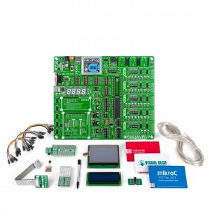 mikroLAB AVR arendusplatvorm + mikroC kompilaator