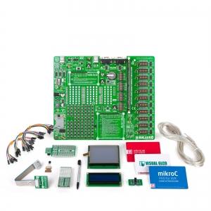 mikroLAB AVR L arendusplatvorm + mikroC kompilaator