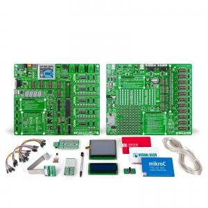 mikroLAB AVR XL arendusplatvorm + mikroC kompilaator