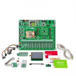 mikroLAB Tiva arendusplatvorm + mikroC kompilaator